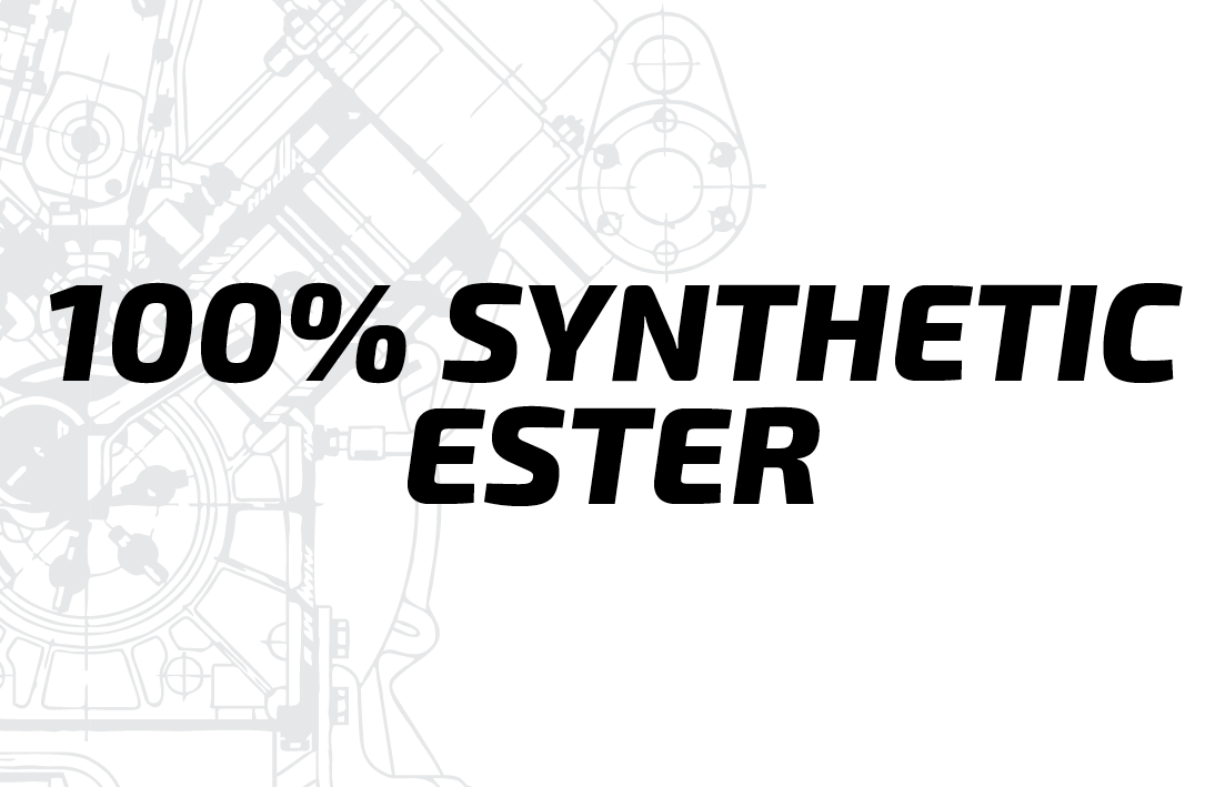 100% SYNTHETIC ESTER