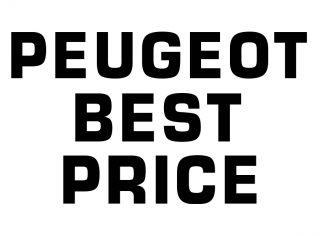PEUGEOT BEST PRICE