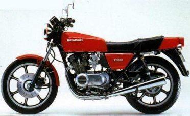 Z 500 (1980-1985)